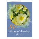 Añada las primaveras de la edad/de la ocasión/de tarjeta de felicitación