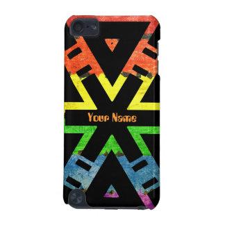 Añada su arco iris conocido X Funda Para iPod Touch 5G
