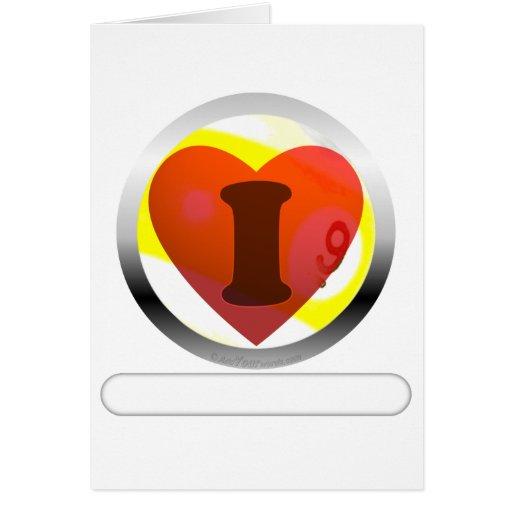 Añada su bola de las palabras 9 tarjeta de felicitación