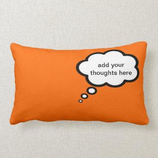añada su burbuja del dibujo animado de los sueños almohadas