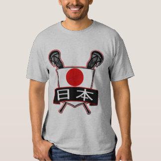 Añada su camiseta de Japón LaCrosse del nombre y Remera