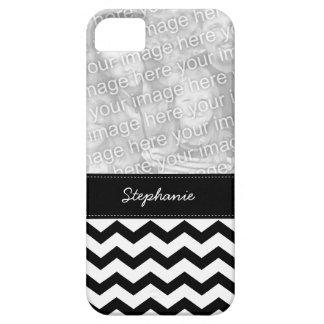Añada su caso del iPhone 5 del zigzag de Chevron iPhone 5 Carcasa