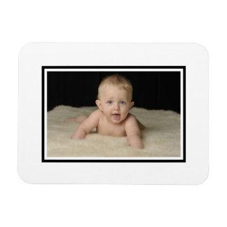 Añada su foto a esta plantilla clásica rectangle magnet