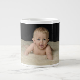 Añada su foto a esta taza enorme taza grande