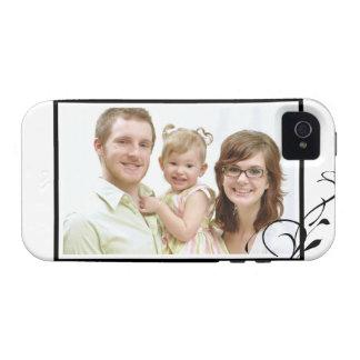 Añada su foto a este caso del iPhone 4 iPhone 4 Funda
