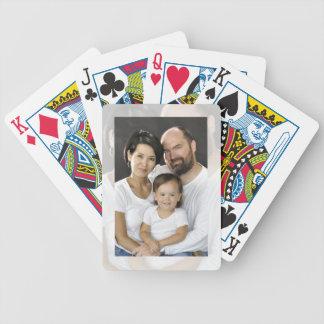 Añada su foto a estos naipes cartas de juego