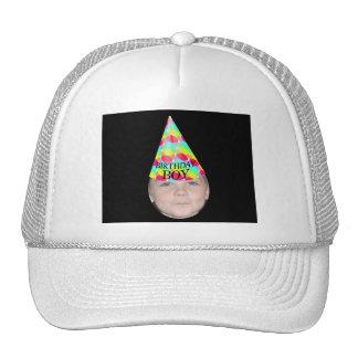 Añada su foto a un gorra del fiesta del muchacho