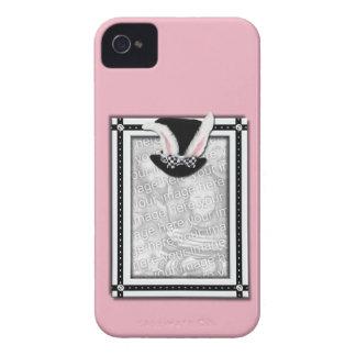 AÑADA SU FOTO - algún conejito le ama Carcasa Para iPhone 4