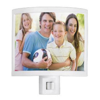 Añada su foto de familia lámparas de noche