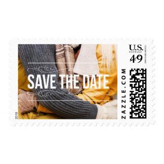 Añada su foto la fecha USPS que casa sellos