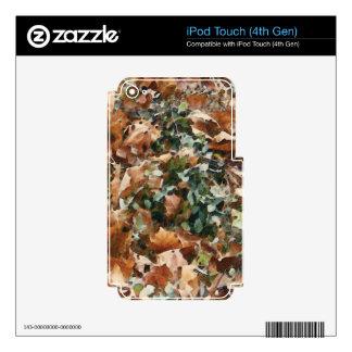 Añada su foto/mensaje/logotipo preferidos iPod touch 4G calcomanía
