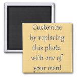 Añada su foto o imagen vertical imán