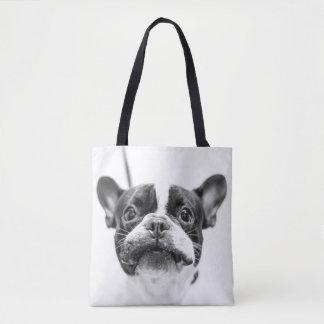 Añada su foto preferida del mascota por todo bolsa de tela