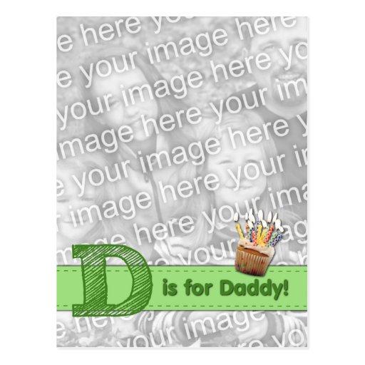 AÑADA SU FOTO que D incompleta está para el papá Postal