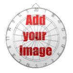 Añada su imagen al personalizar tabla dardos
