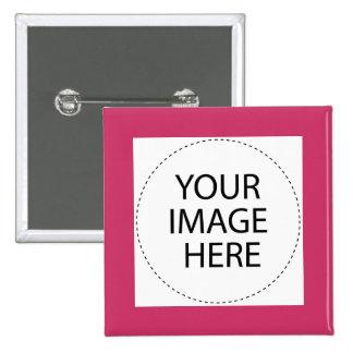 Añada su imagen o texto aquí pin cuadrada 5 cm