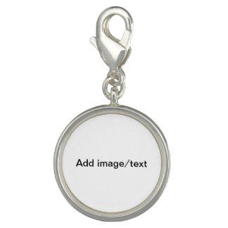 Añada su imagen y/o las palabras acortan en encant dijes con foto