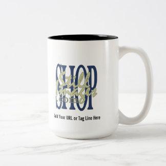 Añada su logotipo de la compañía a esta taza