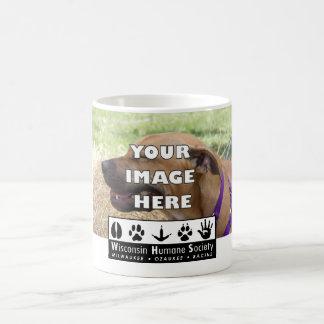 Añada su logotipo del animal WHS Tazas De Café