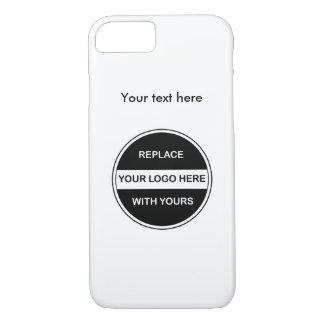 Añada su logotipo del negocio funda iPhone 7