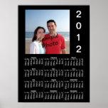 Añada su poster del calendario de la foto 2012