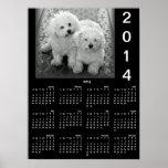 Añada su poster del calendario de la foto 2014