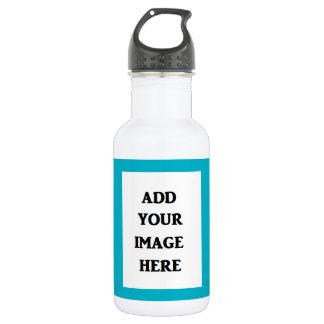 Añada su propia botella de agua de la imagen