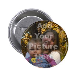 Añada su propia colección de la imagen pin redondo 5 cm