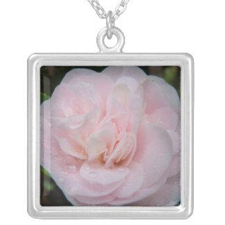 Añada su propia foto de la flor colgante cuadrado