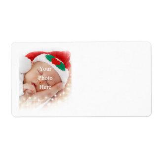 Añada su propia foto etiquetas de envío