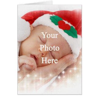 Añada su propia foto tarjeta de felicitación