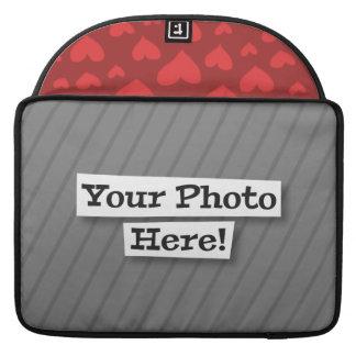 Añada su propia foto y modelo funda macbook pro