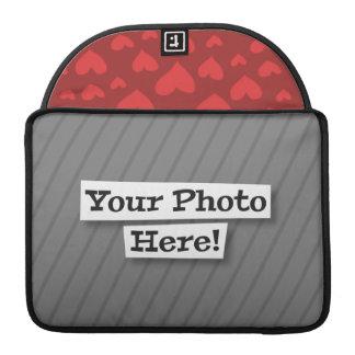 Añada su propia foto y modelo funda para macbooks