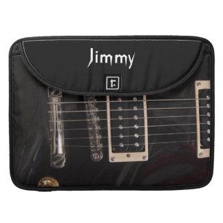 Añada su propia guitarra eléctrica del funda para macbooks