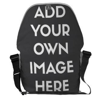 Añada su propia imagen/foto bolsa de mensajeria