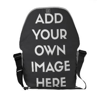 Añada su propia imagen/foto bolsa de mensajería