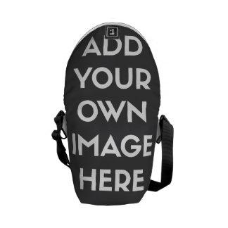 Añada su propia imagen/foto bolsa messenger