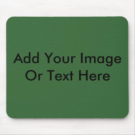 Añada su propia imagen o texto tapete de ratones