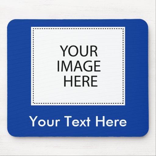 Añada su propia imagen o texto tapetes de ratón