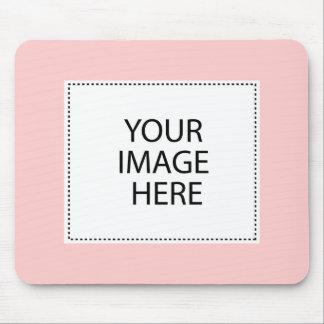 Añada su propia imagen o texto tapetes de ratones