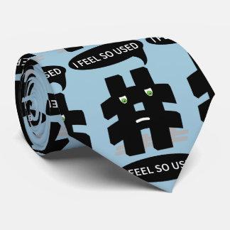 Añada su propio Hashtag divertido Corbatas Personalizadas