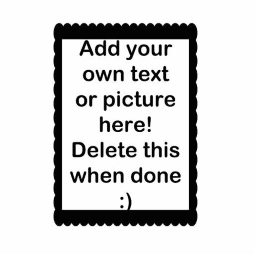 Añada su propio logotipo fotoescultura vertical