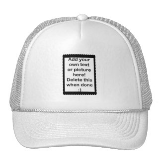 Añada su propio logotipo gorras