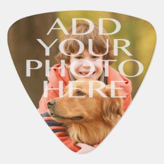 Añada su propio personalizado de la foto uñeta de guitarra