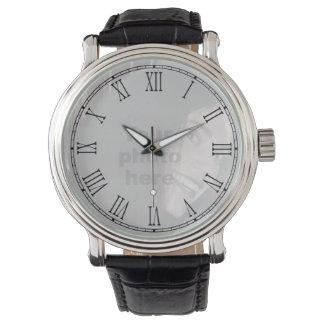 Añada su propio reloj de la cara del número romano