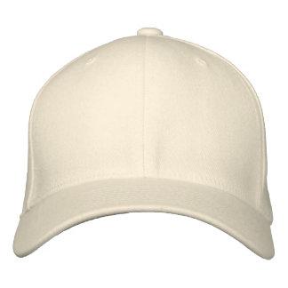 Añada su propio texto o imagen bordado gorra de beisbol