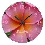 Añada su reloj rosado conocido w/Minutes de la flo