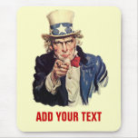 Añada su texto alfombrillas de ratón