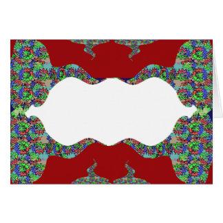 Añada su texto - beso oriental mi diseño de los tarjeta de felicitación