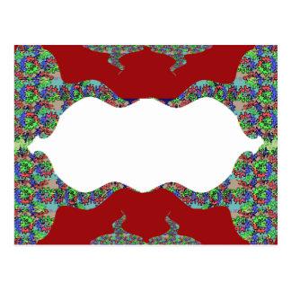 Añada su texto - beso oriental mi diseño de los tarjeta postal